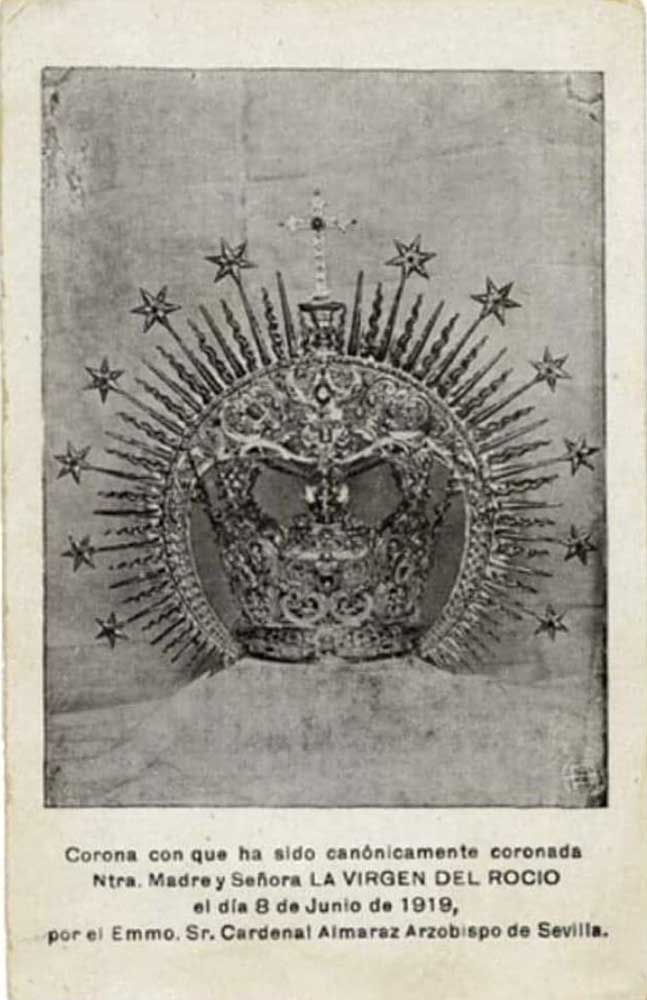 Coronas Virgen del Rocío
