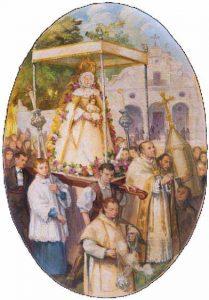 Retablo-Virgen-del-Rocio-parroquia-almonte-Santiago-Martinez-1948-Foto-Carmen-Longobardo