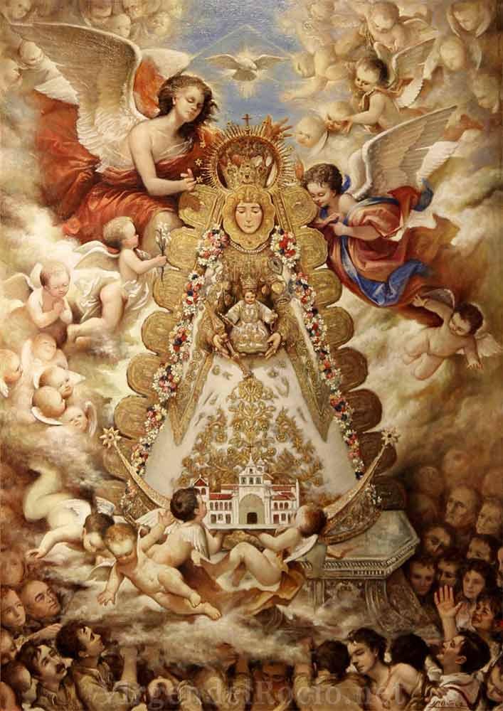 Cartel-Virgen-del-rocio-año-1994