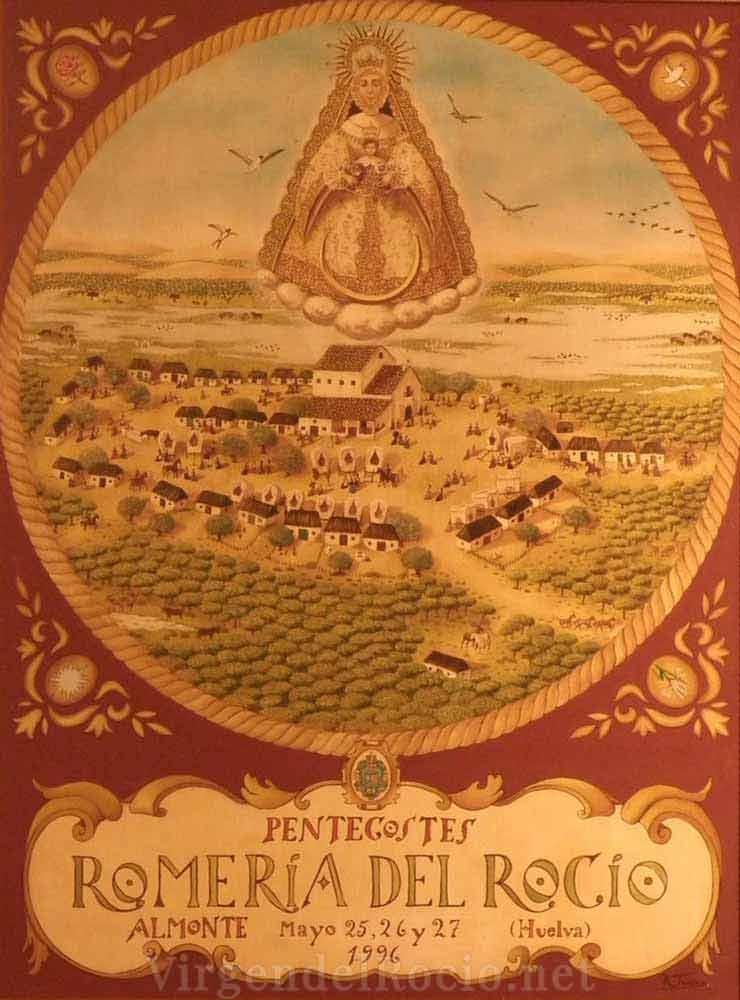 Cartel-Virgen-del-rocio-año-1995