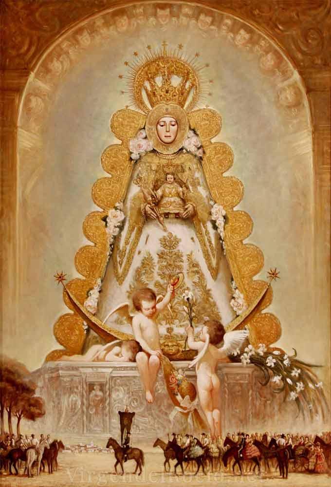 Cartel-Virgen-del-rocio-año-2000