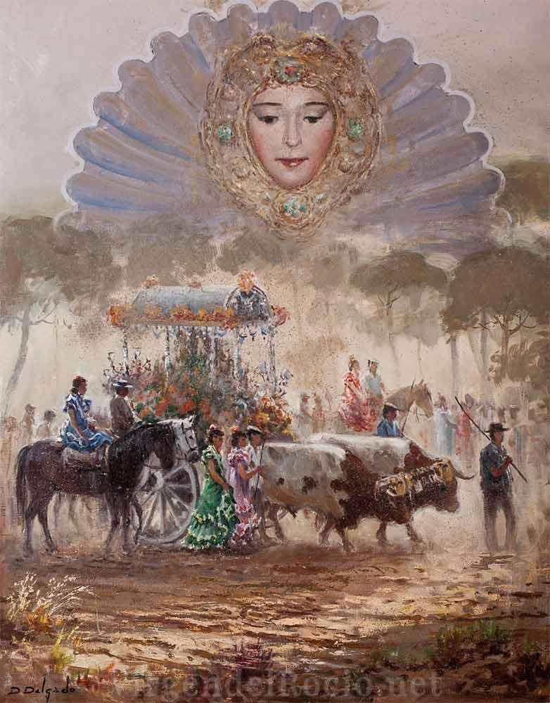 Cartel-Virgen-del-rocio-año-2001