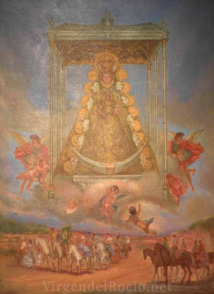 Cartel-Virgen-del-rocio-año-2003