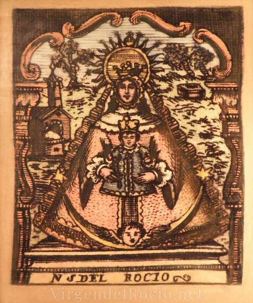 Cartel-Virgen-del-rocio-año-2005
