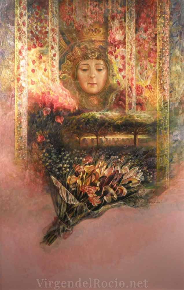 Cartel-Virgen-del-rocio-año-2008