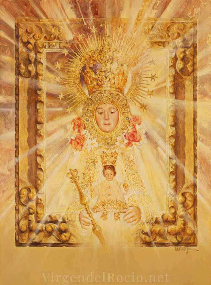 Cartel-Virgen-del-rocio-año-2009-romeria