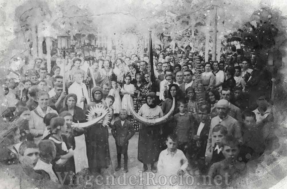 Traslado Virgen del Rocío 1939
