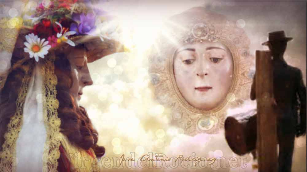 Virgen del Rocío Reina y pastora