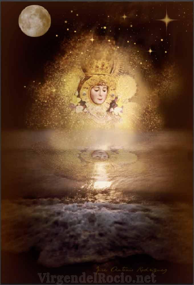 Virgen del Rocío amanecer