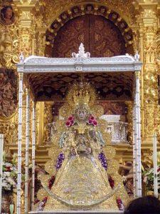 Andas Virgen del Rocío