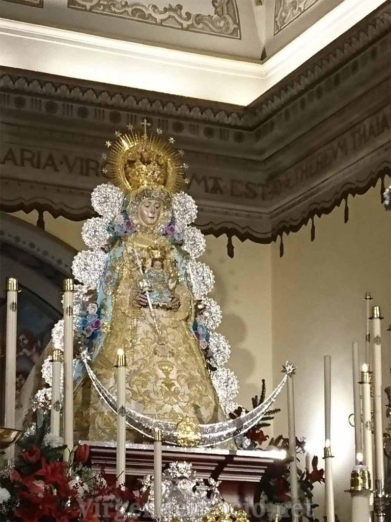 Virgen-del-Rocío en Almonte
