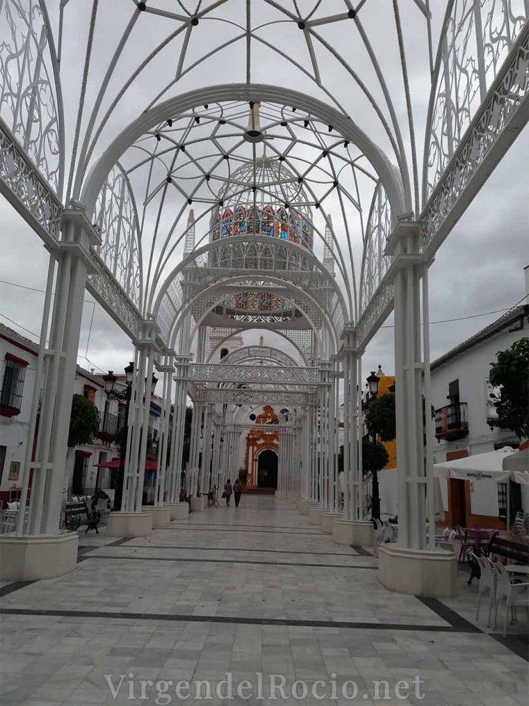 Catedral efímera Almonte