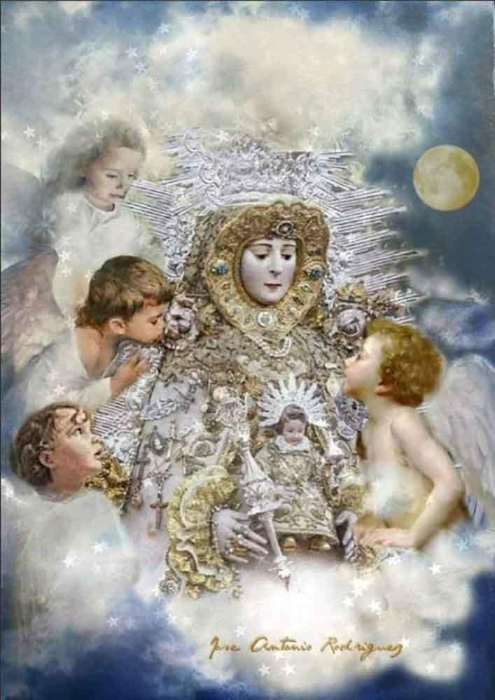 Virgen-del-Rocio-con-angeles