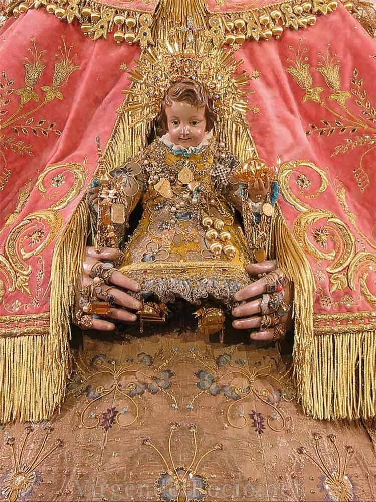 Niño Virgen del Rocío de pastora