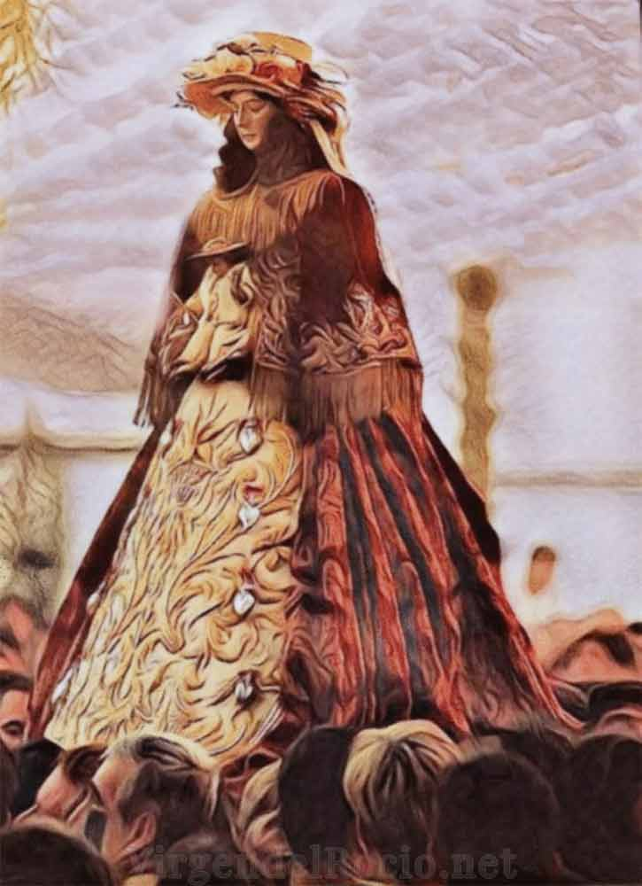 Historia traslados Virgen del Rocío patora