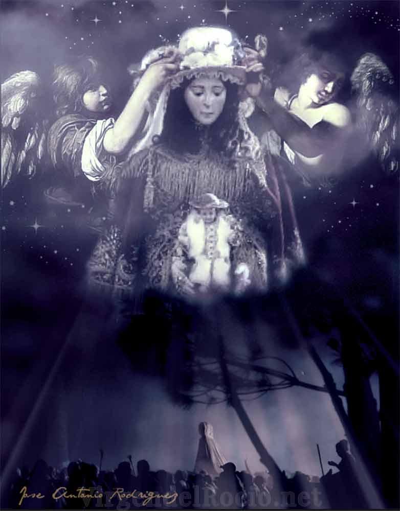 Virgen del Rocío oculta