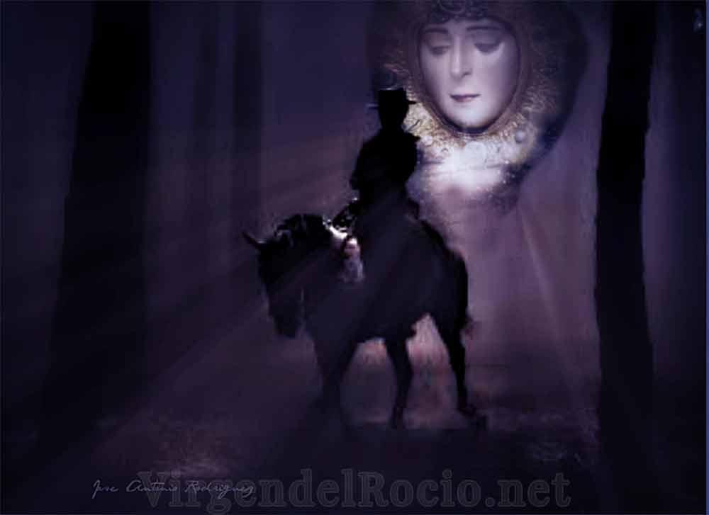 Camino a caballo Virgen del Rocío