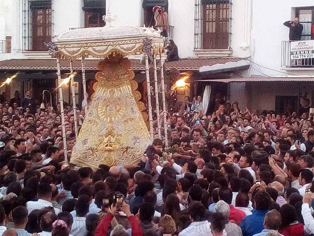 Virgen Rocío procesión