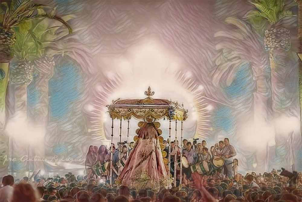 Venida Virgen del Rocío