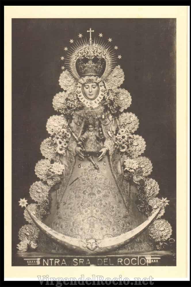 Rafaga antigua Virgen del Rocío