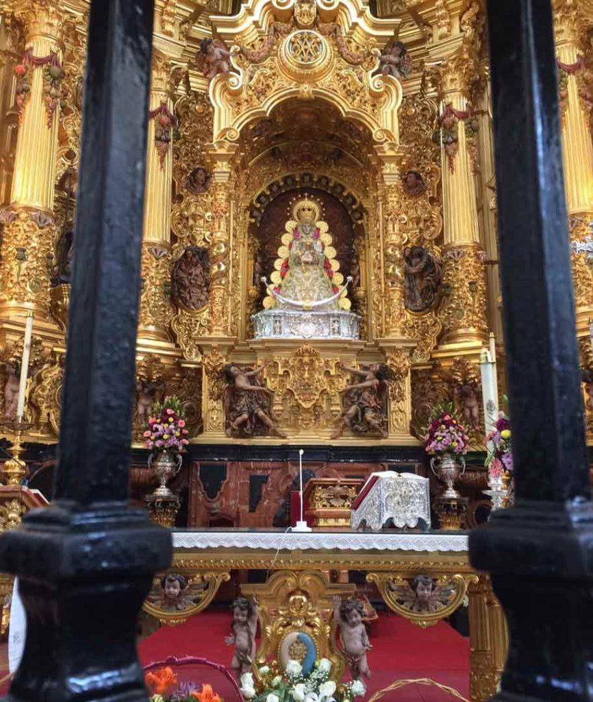 Altar Virgen del Rocío