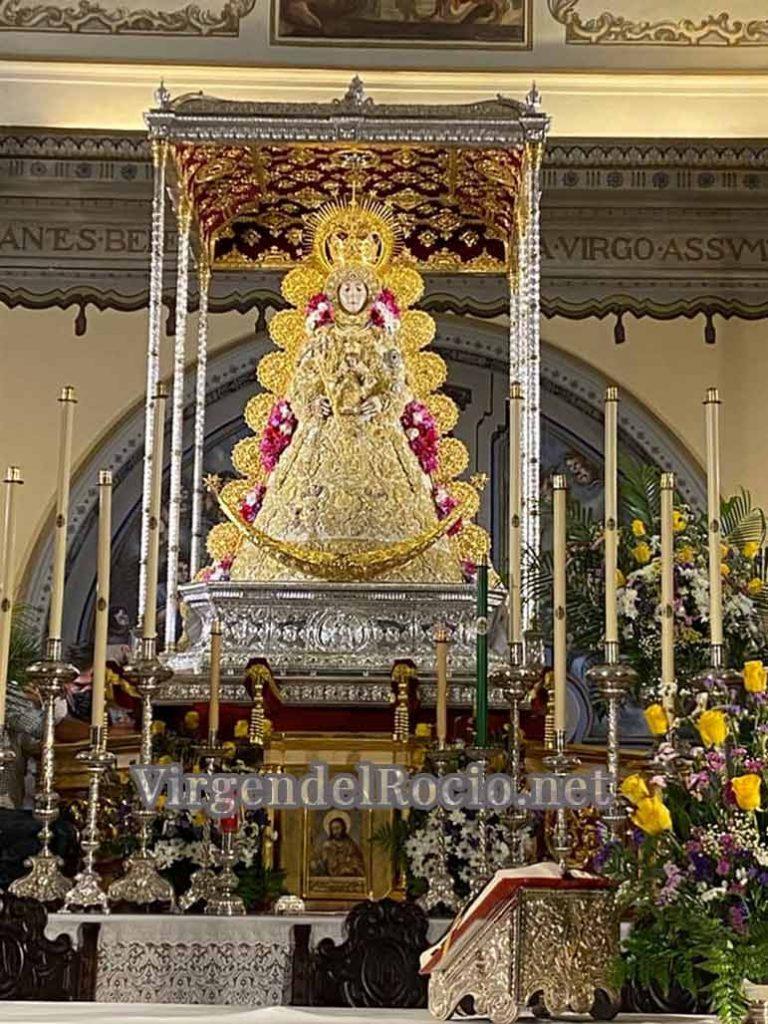 Andas Virgen del Rocio