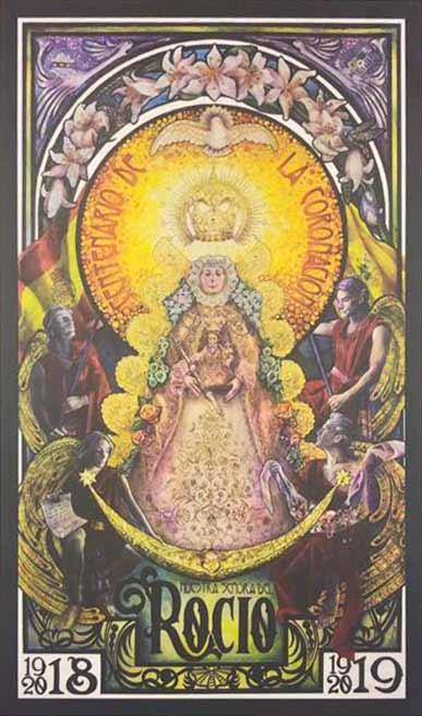 cartel-Virgen-del-Rocio-exaltacion-coronacion