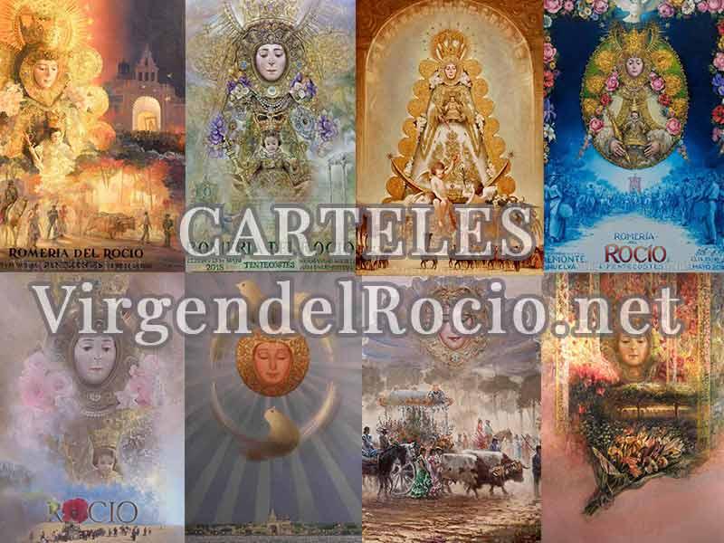 Carteles Virgen del Rocío