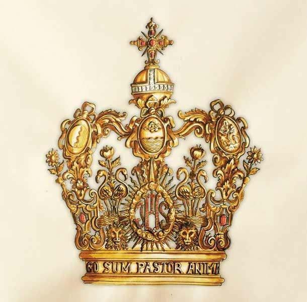corona-virgen-del-rocio-niño-boceto
