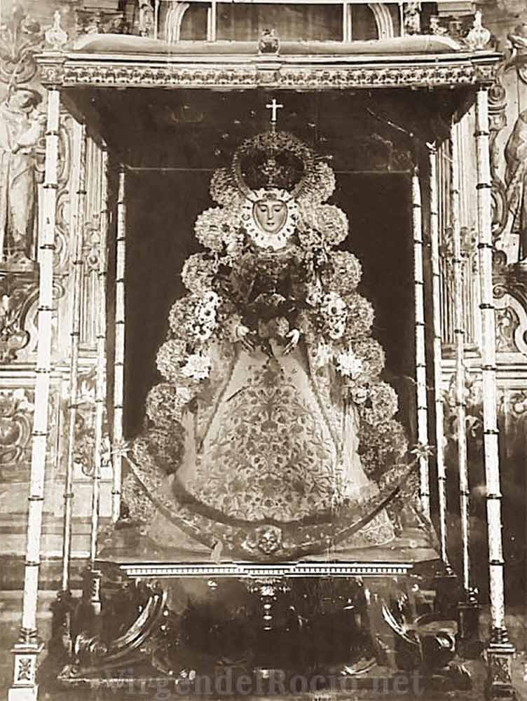coronacion Virgen del Rocío 1919