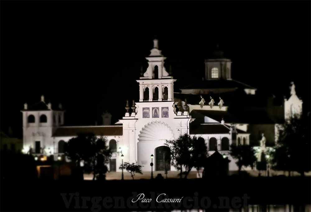 Ermita Virgen del Rocio entrada