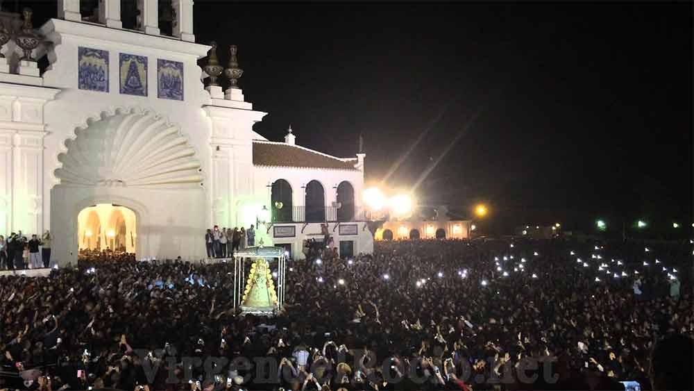 Salida ermita Virgen del Rocio salida procesión