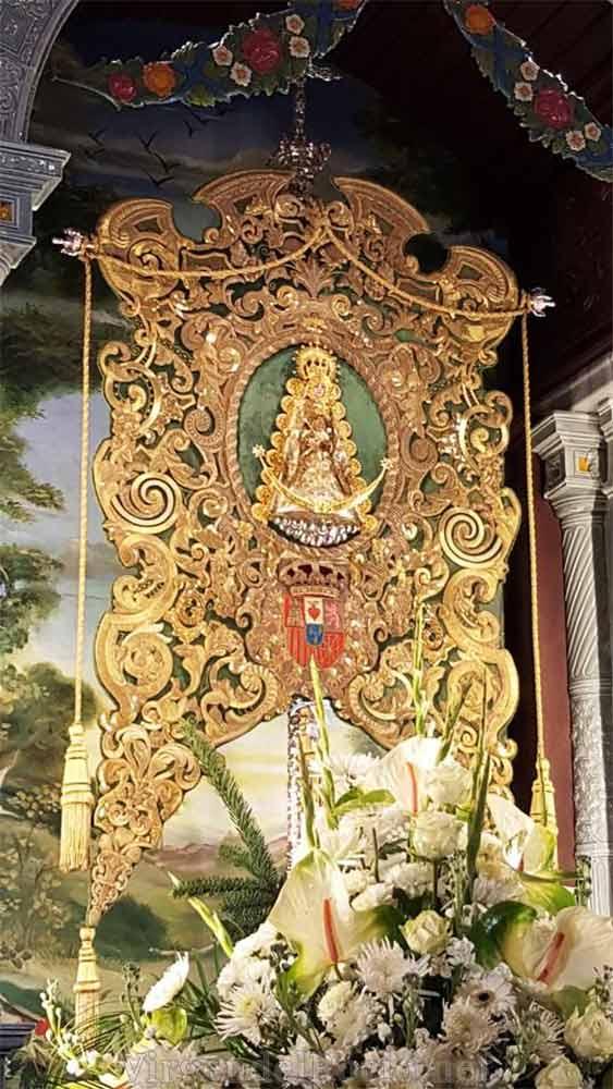 Simpecado Virgen del Rocío Huelva- fotografía Luiche Calzado