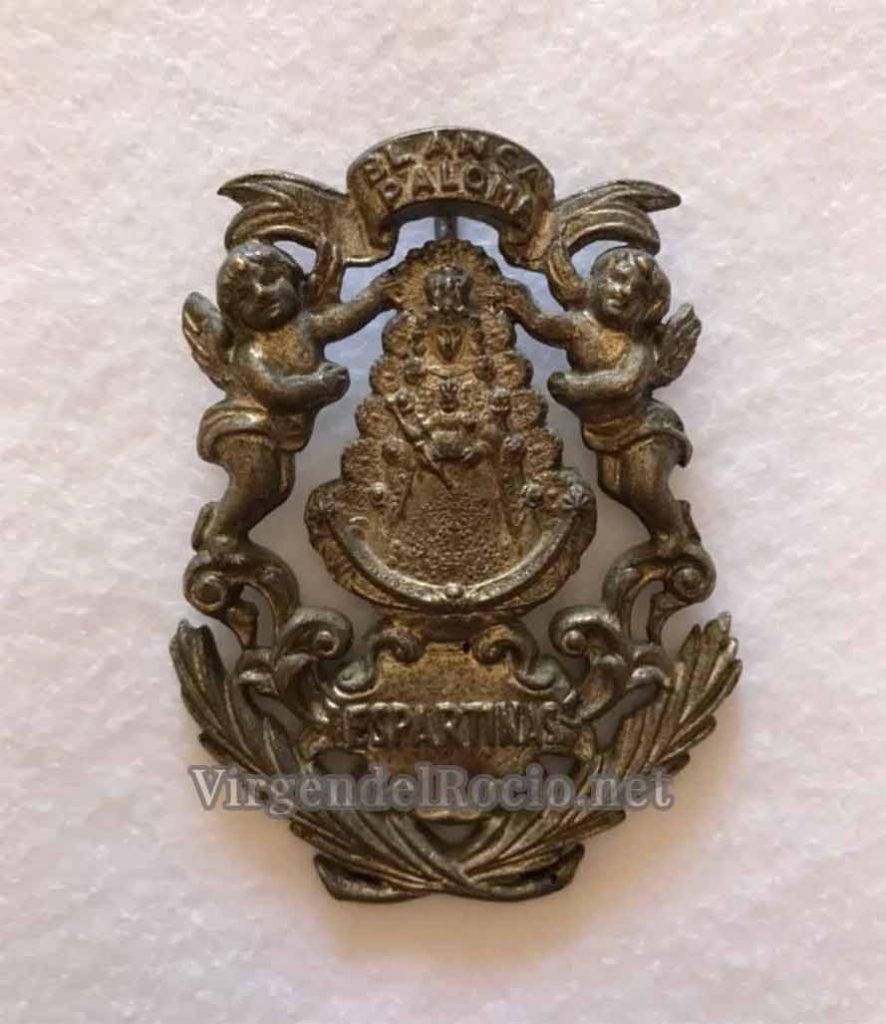 Medalla Virgen del Rocío Espartinas