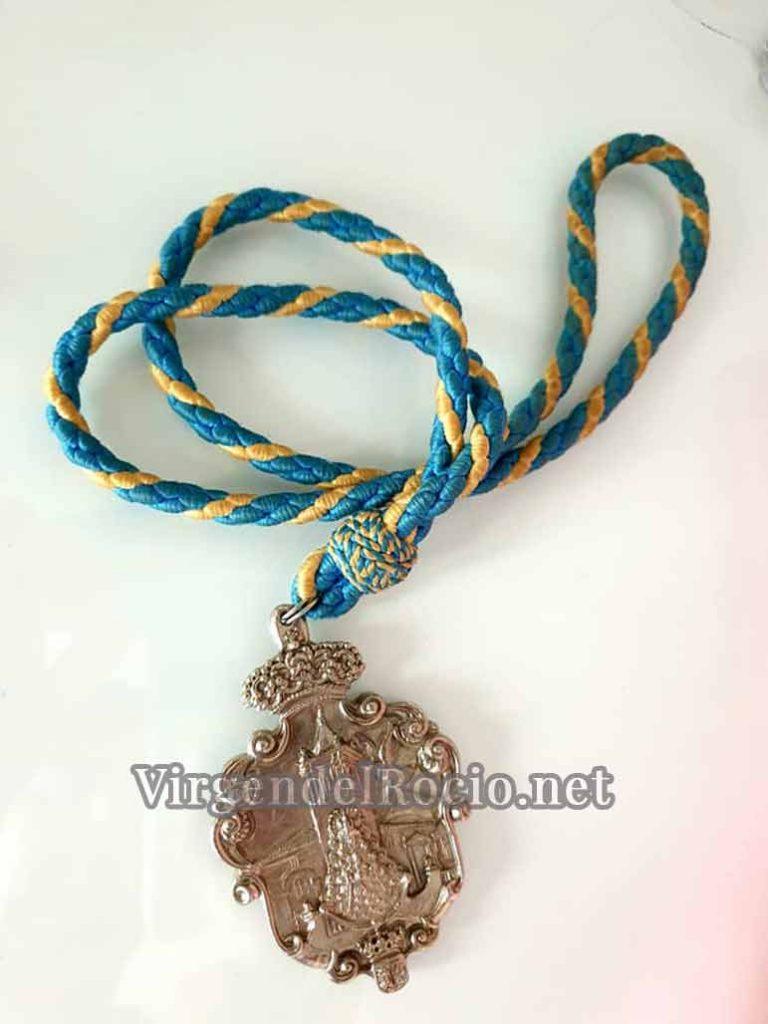 Medalla Virgen del Rocío Viso del Alcor