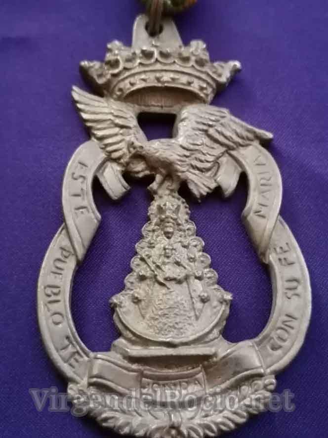 Medalla Virgen del Rocío del Cerro del Águila
