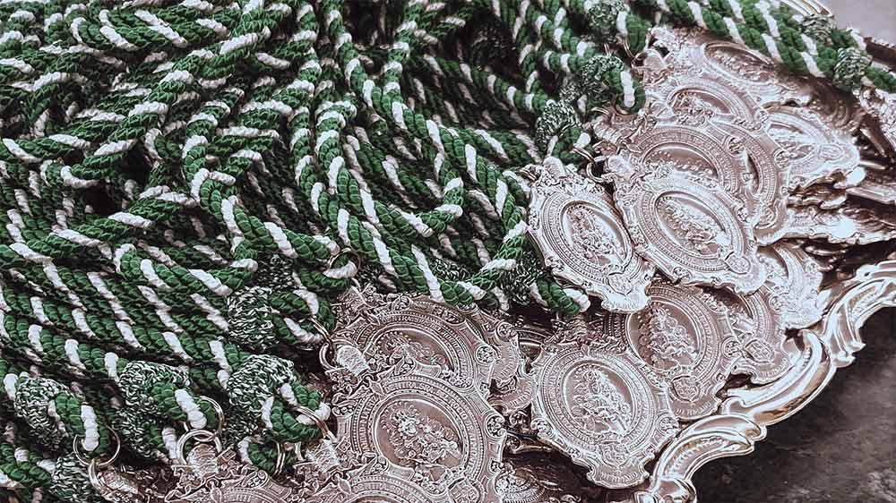 Medallas hermanos Virgen del Rocío