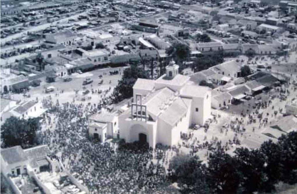 Obras Santuario del Rocío 1964