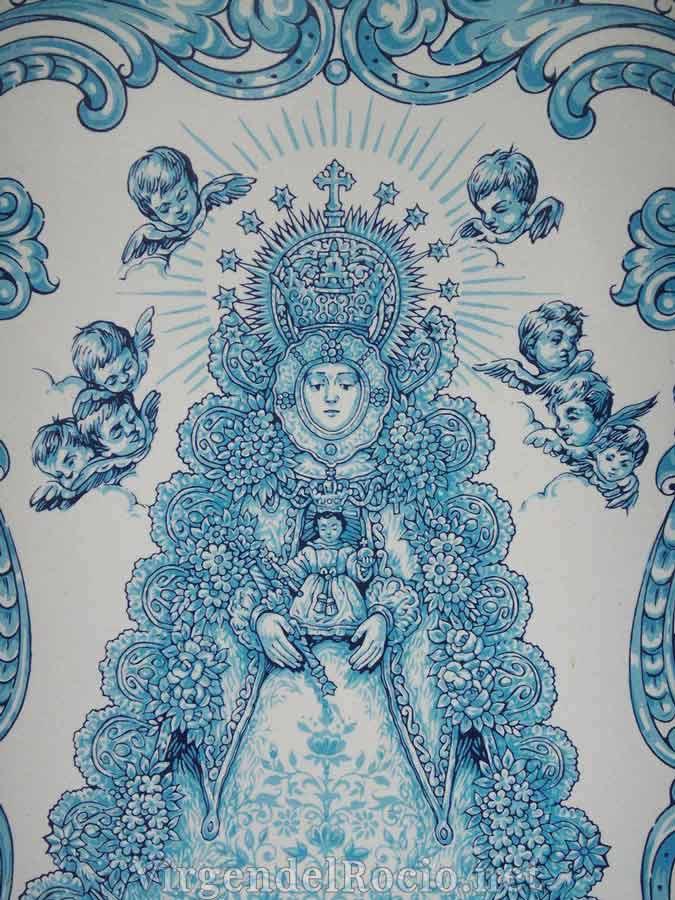pintura-Virgen-del-Rocio
