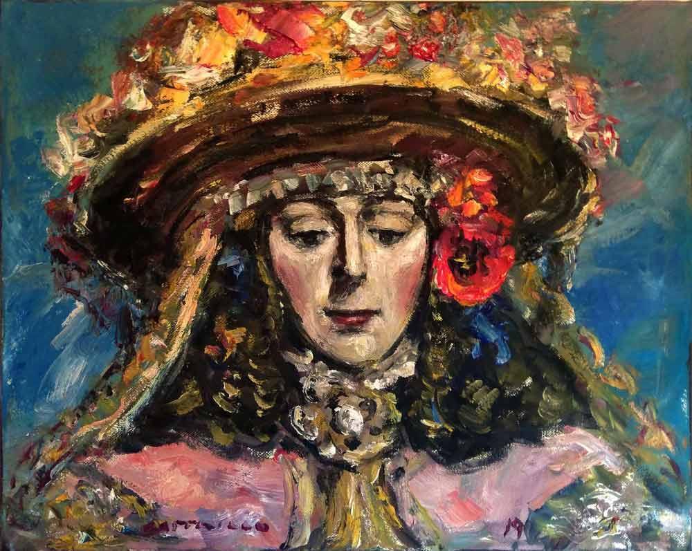 pintura-cara-Virgen-del-Rocio