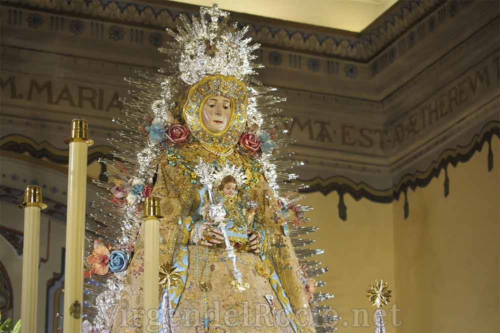 Rafaga rayos Virgen del Rocío