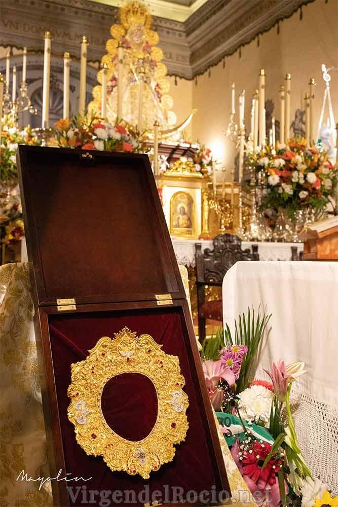 Rostrillo Virgen del Rocío