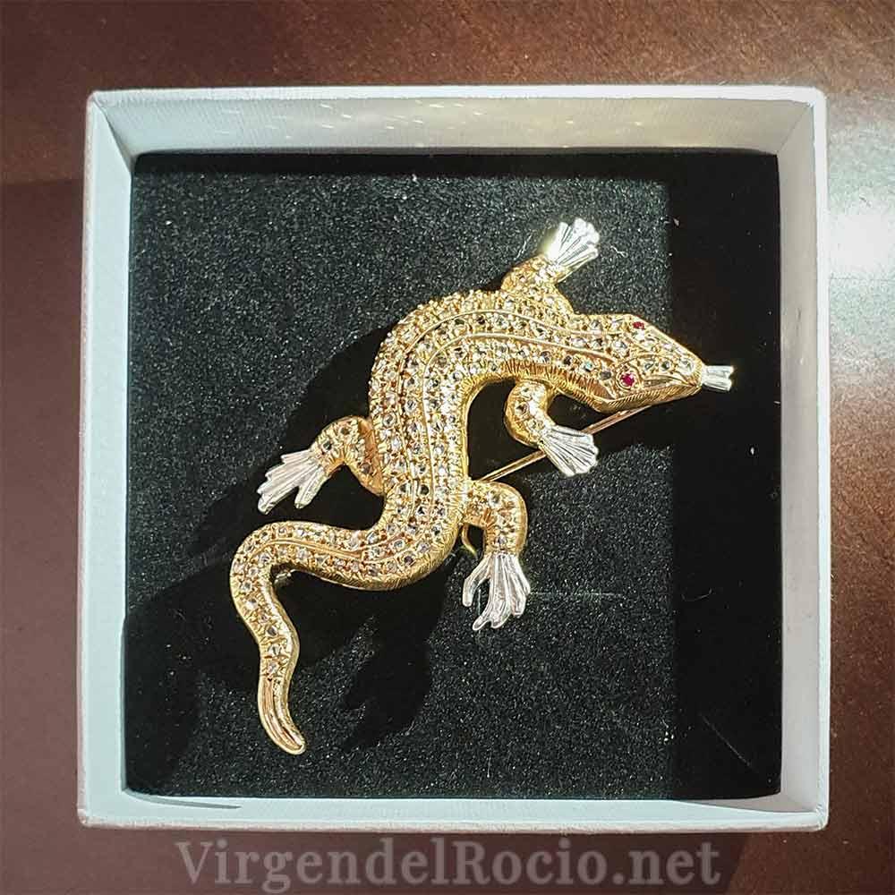 Salamandra Virgen del Rocío