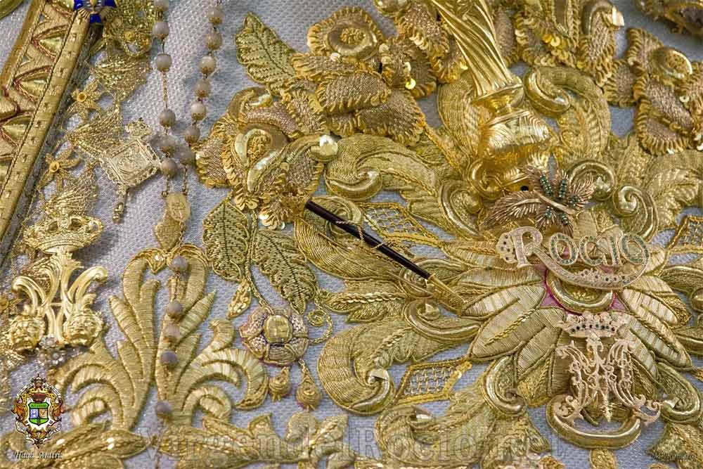 Salla Virgen del Rocío detalle