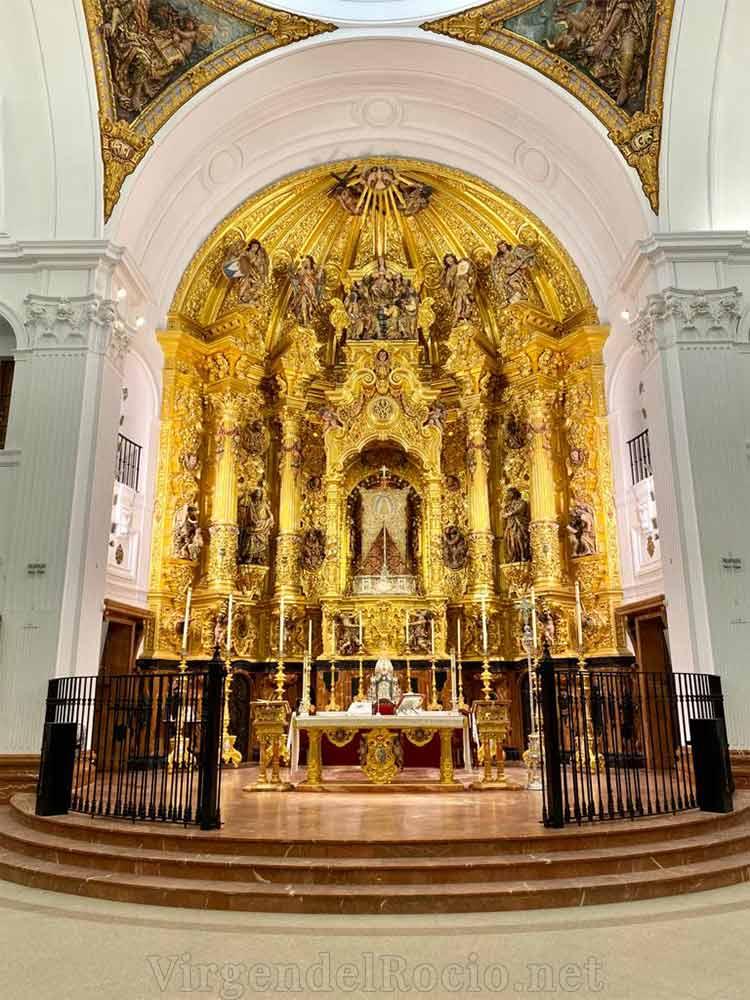 Retablo ermita Virgen del Rocío