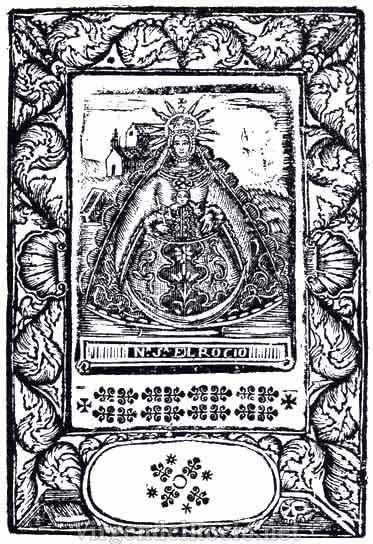 virgen-Rocio-litografia