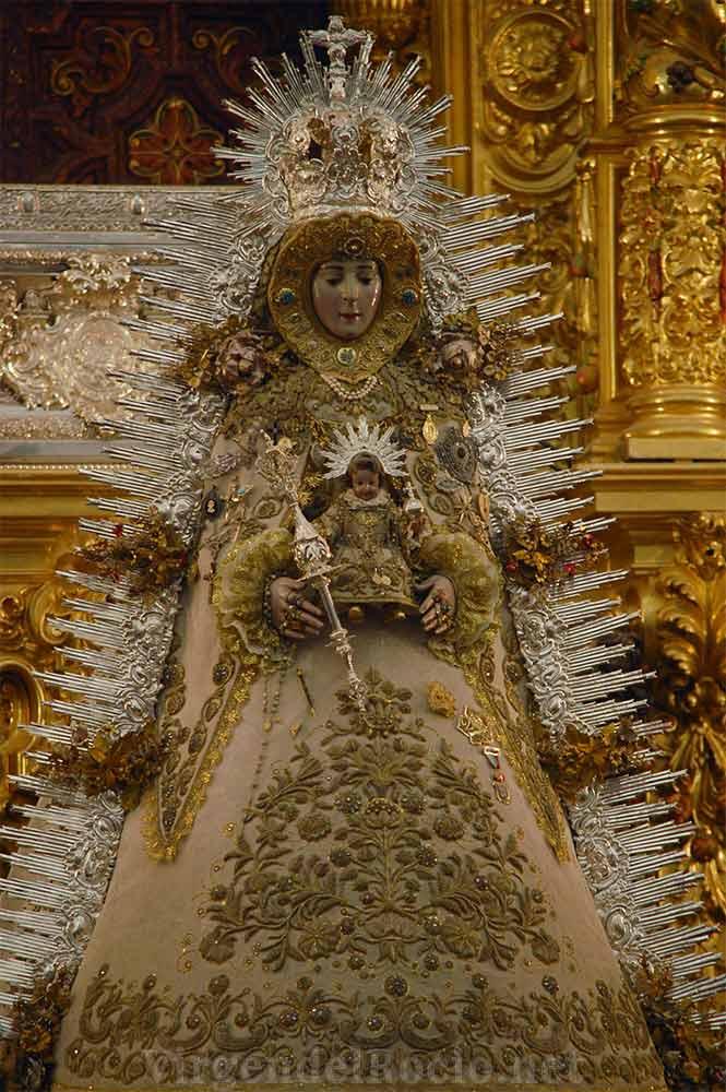 Virgen del Rocío rafaga rallos