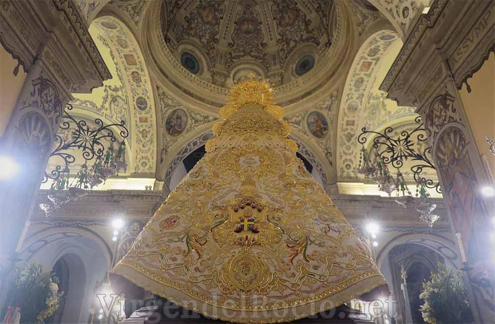 Manto Virgen del Rocío